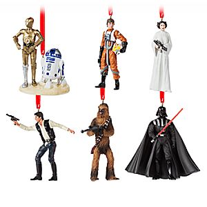 Star Wars 40th Anniversary Ornament Set – Limited Edition