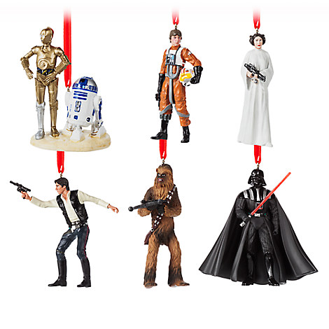 Star Wars 40th Anniversary Ornament Set - Limited Edition