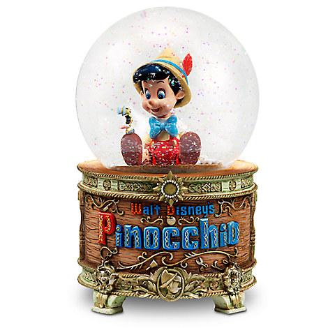Pinocchio Snowglobe