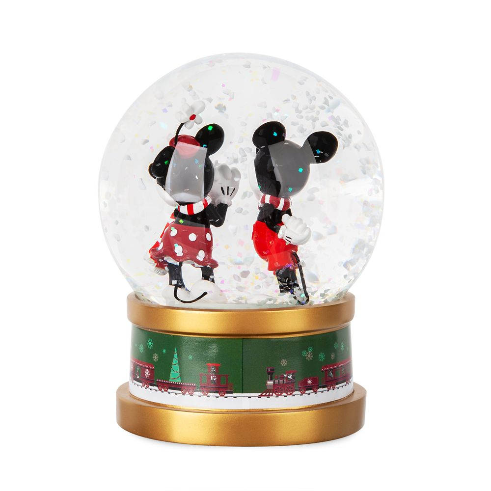 Mickey and Minnie Mouse Holiday Snowglobe 2019