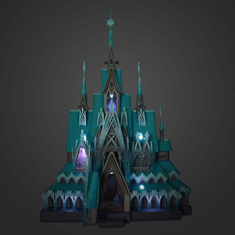 Frozen Castle Light-Up Figurine – Disney Castle Collection – Limited Release