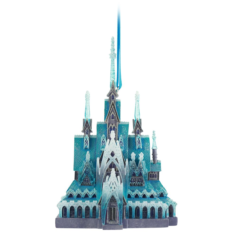 Frozen Castle Ornament – Disney Castle Collection – Limited Release