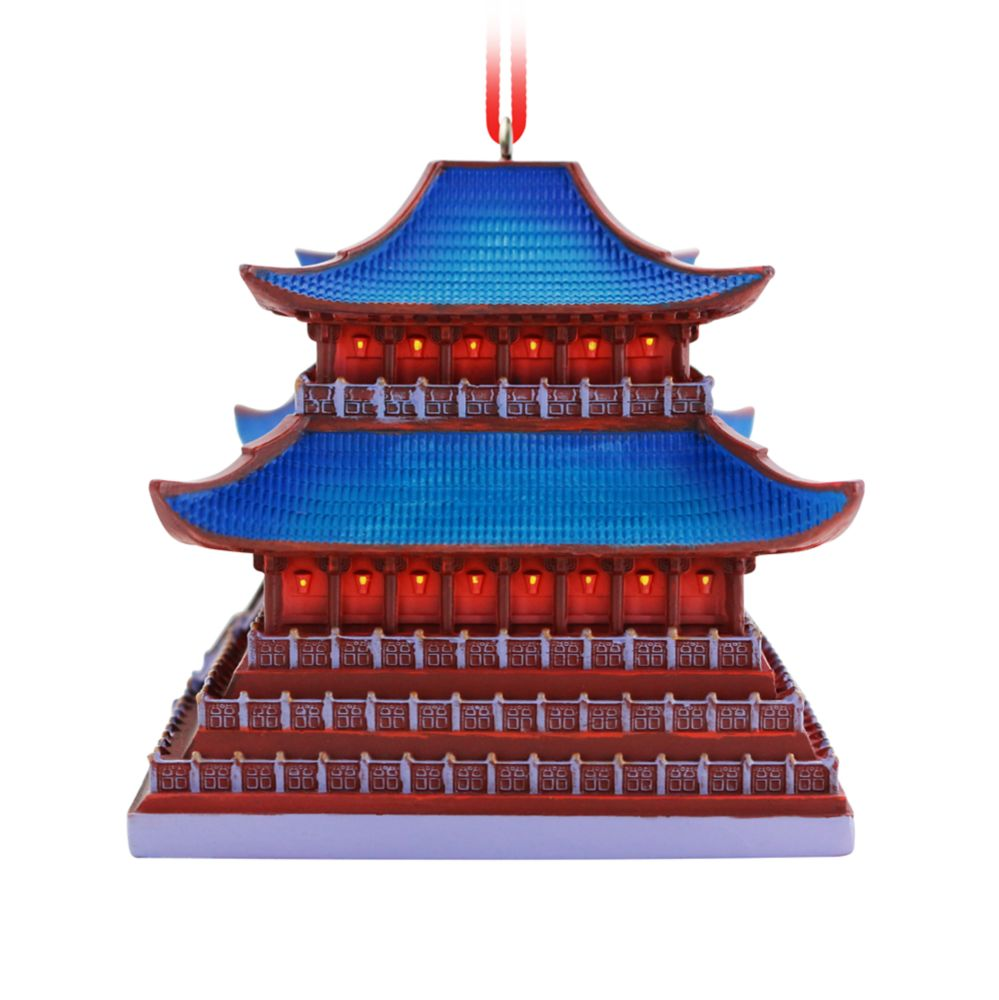 Mulan Imperial Palace Ornament – Disney Castle Collection – Limited Release