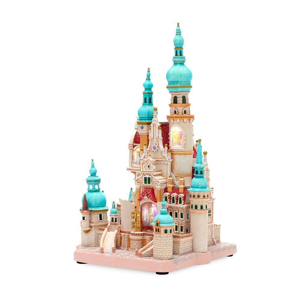 Rapunzel Castle Light-Up Figurine – Tangled – Disney Castle Collection – Limited Release