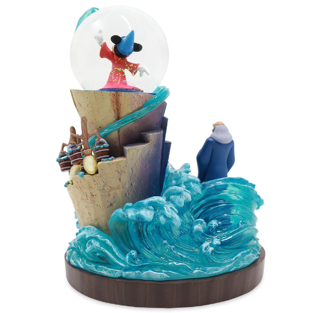 D23 Early Access Fantasia 80th Anniversary Figure with Snowglobe – Limited Edition