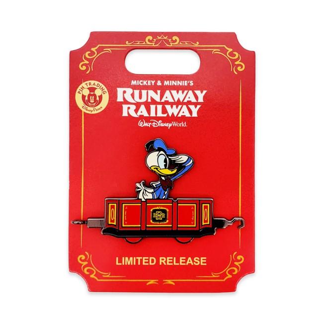 Donald Duck Pin – Mickey & Minnie's Runaway Railway – Limited Release