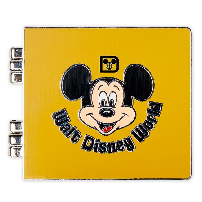 Mickey Mouse Photo Album Pin – Walt Disney World 50th Anniversary