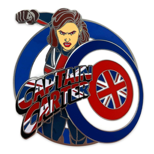 Captain Carter Pin – Marvel What If . . . ? –Limited Release