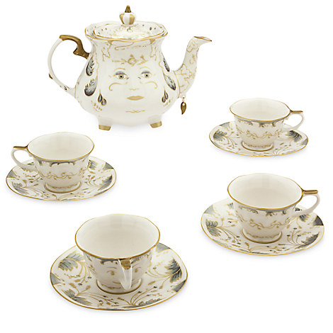 Beauty and the Beast Limited Edition Fine China Tea Set ...