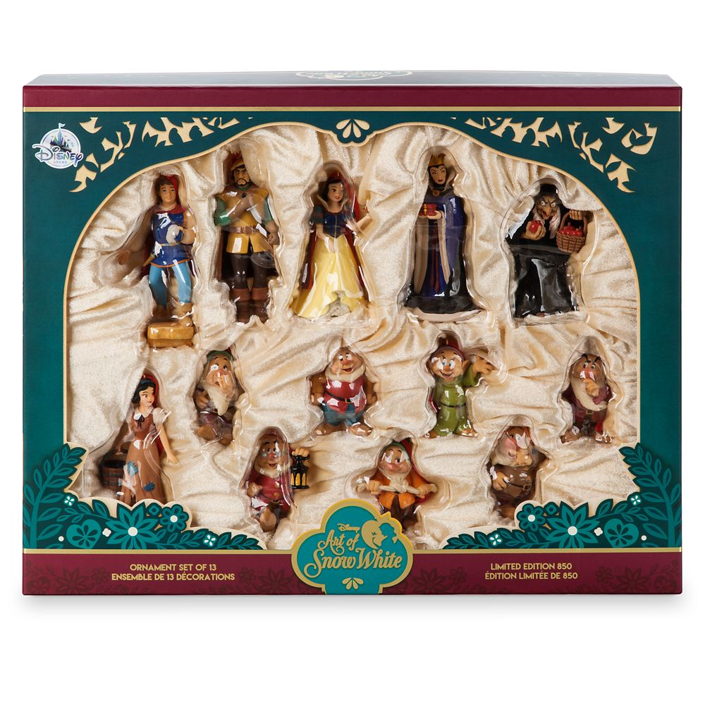 Art of Snow White Ornament Set – Limited Edition