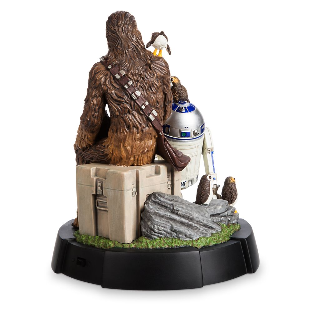 Chewbacca, R2-D2 & Porgs Limited Edition Figurine – Star Wars: The Last Jedi