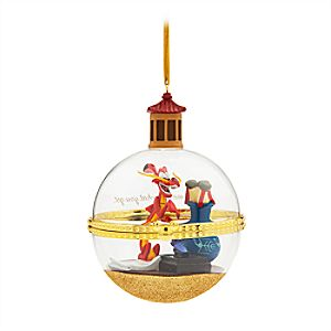 Mushu and Cri-kee Disney Duos Sketchbook Ornament - Mulan - January - Limited Release