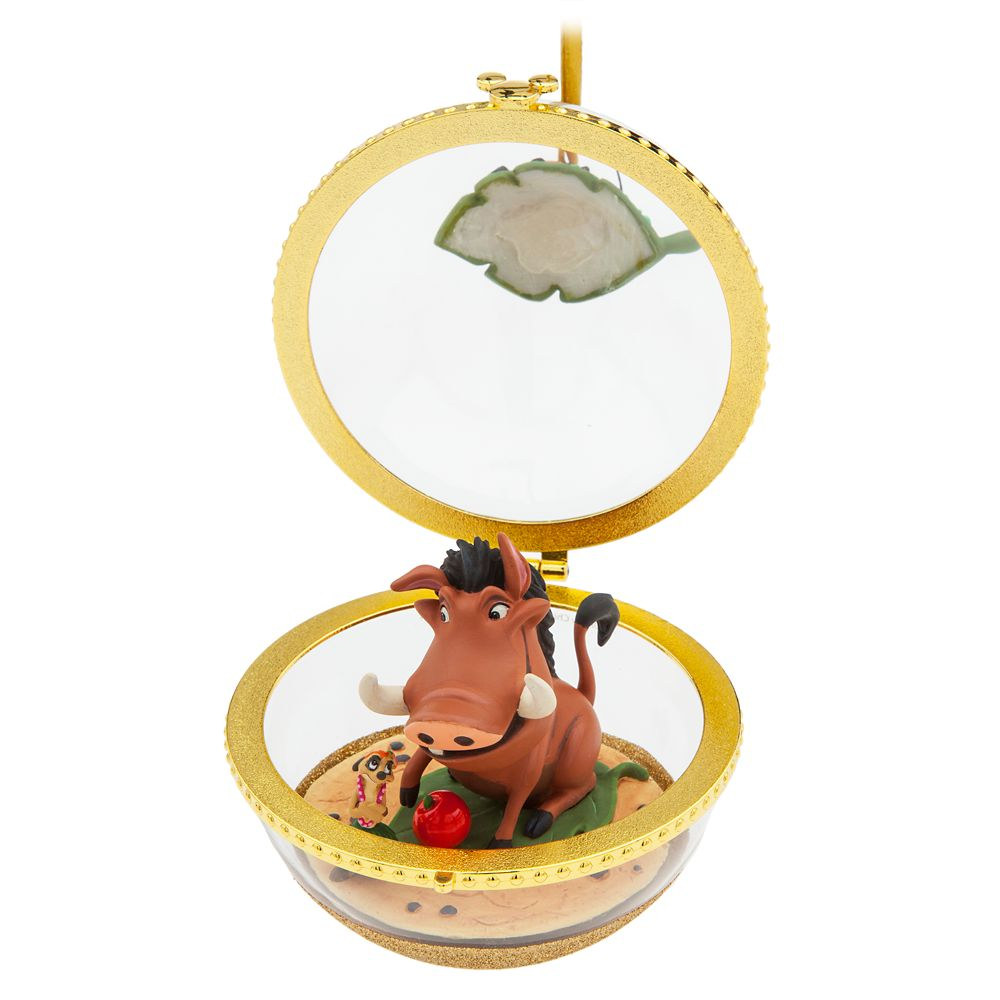 Timon and Pumbaa Disney Duos Sketchbook Ornament – The Lion King – May – Limited Release