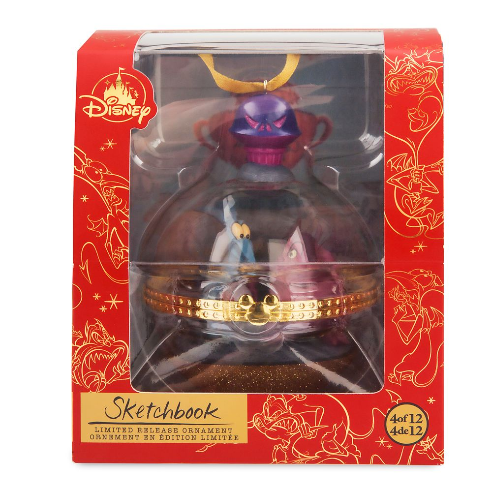 Pain and Panic Disney Duos Sketchbook Ornament – Hercules – April – Limited Release