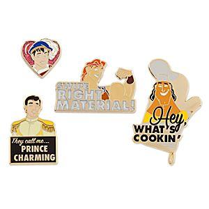 Disney Prince Pin Set 2 - Oh My Disney