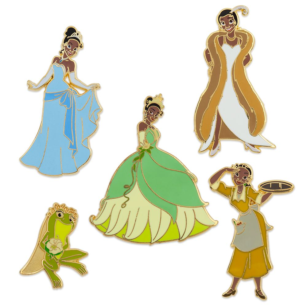 The Princess and the Frog 10th Anniversary Pin Set – Limited Edition