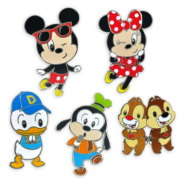 Mickey Mouse and Friends Cuties Pin Set