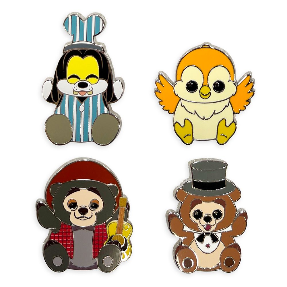 Disney Parks Wishables Mystery Pin Set Blind Pack