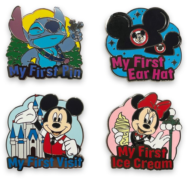 Mickey Mouse and Friends  ''My First'' Pin Trading Starter Set