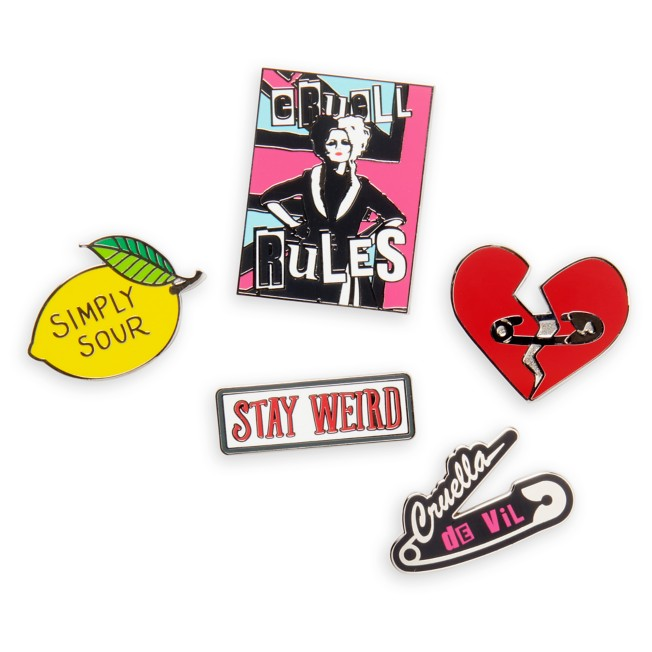 Cruella Pin Set – Live Action – Limited Edition