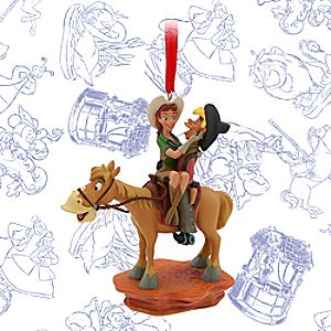 Pecos Bill Limited Release Sketchbook Ornament - September 2016