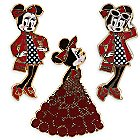 Minnie Mouse Signature Pin Set - Limited Edition