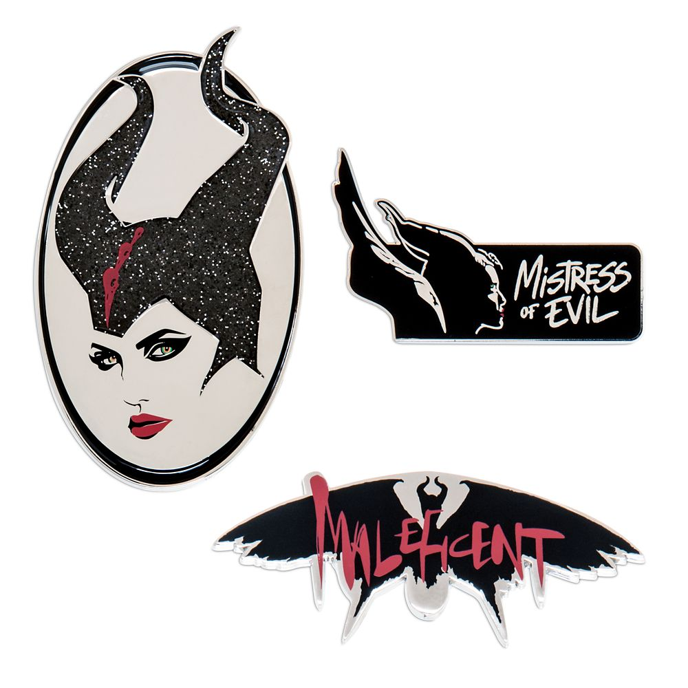 Maleficent: Mistress of Evil Pin Set – Limited Edition