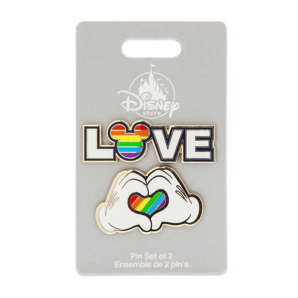 Rainbow Mickey Collection Pin Set