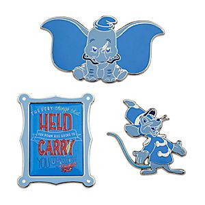 Disney Wisdom Pin Set - Dumbo - January - Limited Release