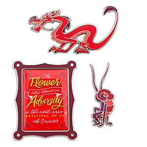 Disney Wisdom Pin Set - Mushu - February - Limited Release