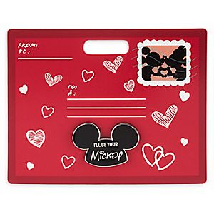 Mickey Mouse Mouseketeer Ear Hat Pin - Valentine's Day