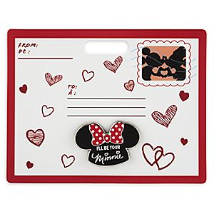 Minnie Mouse Mouseketeer Ear Hat Pin - Valentine's Day