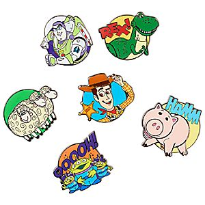 Toy Story Pin Set - Limited Release