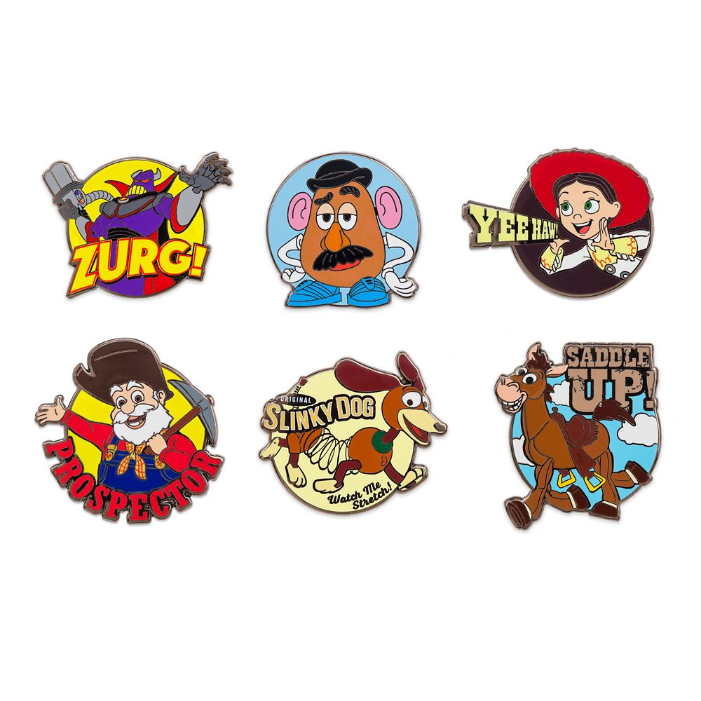 Toy Story 2 Pin Set – Limited Release