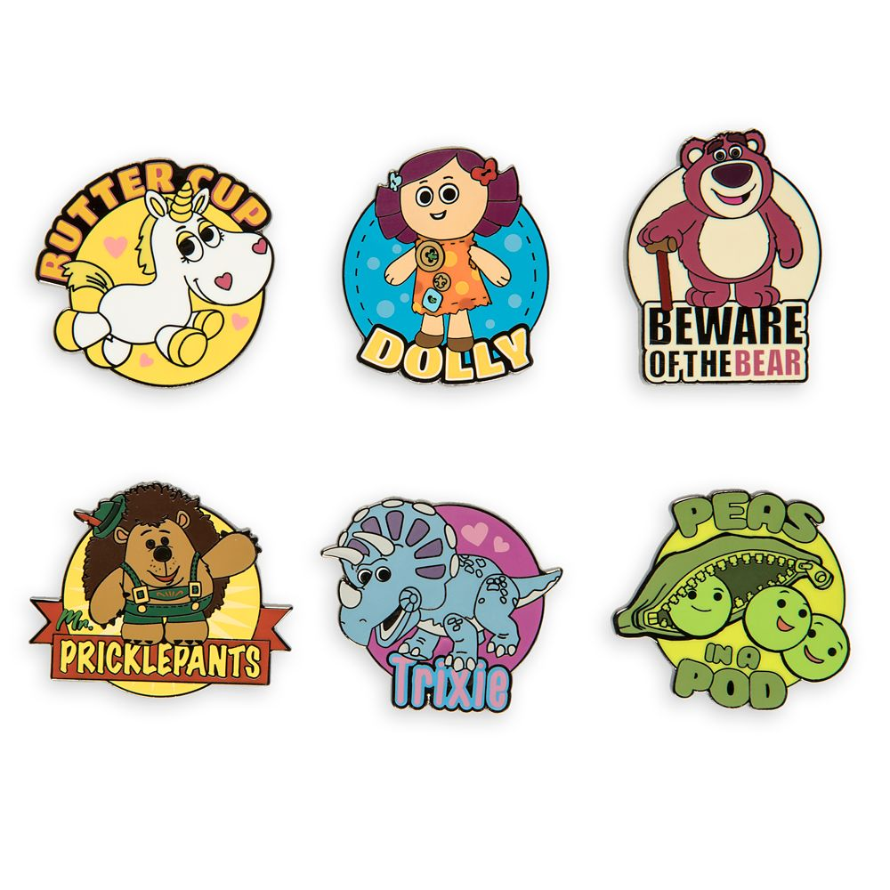 Toy Story 3 Pin Set – Limited Release
