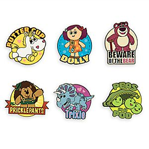 Toy Story 3 Pin Set - Limited Release