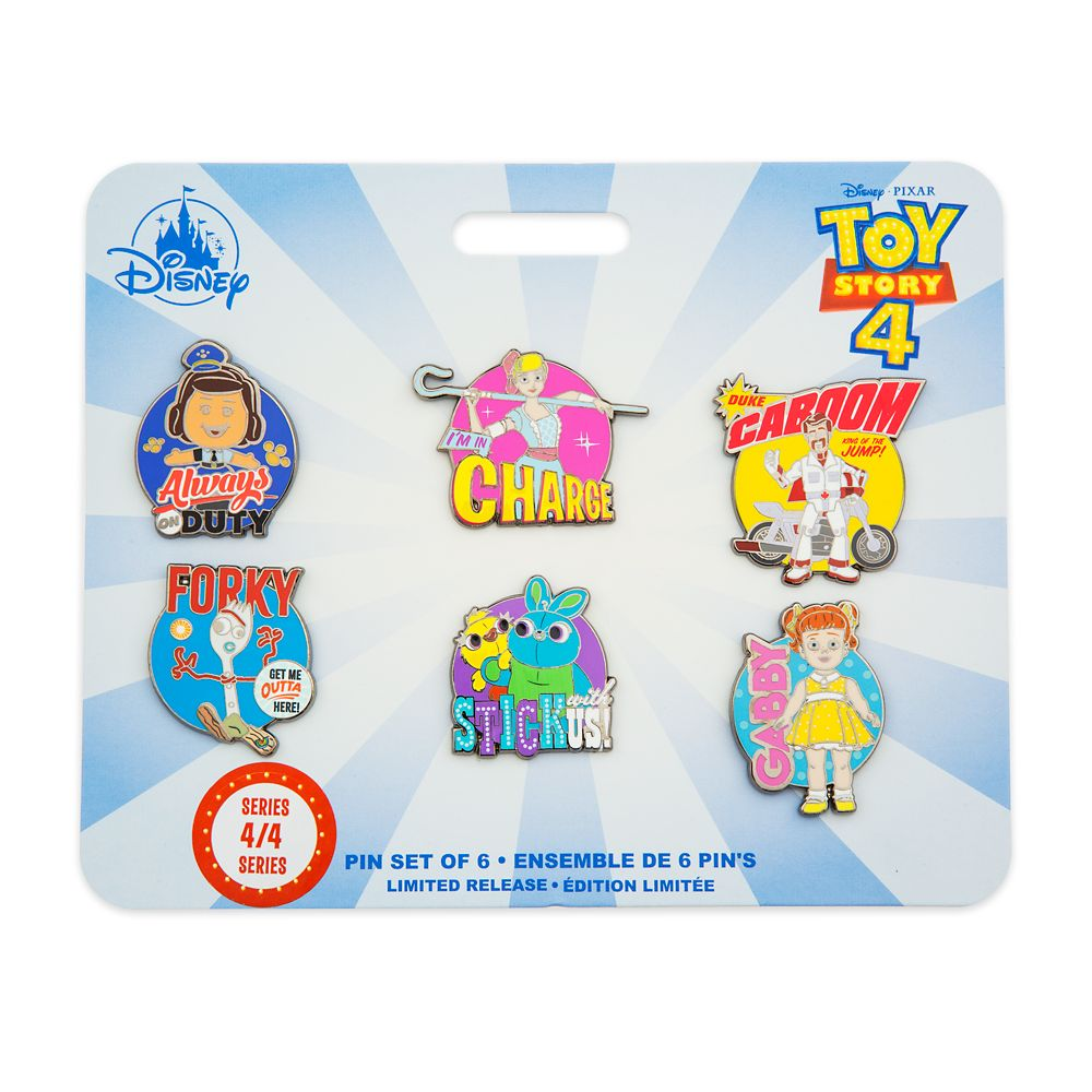 Toy Story 4 Pin Set – Limited Release