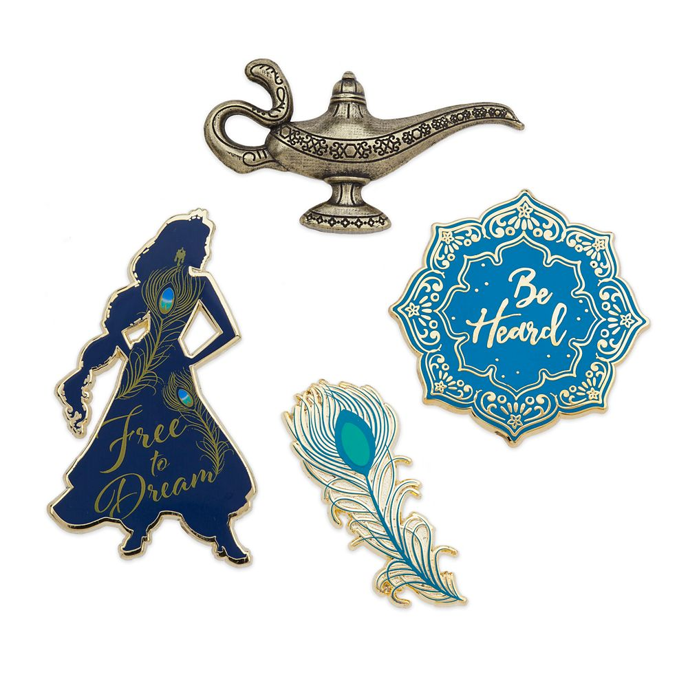 Aladdin Pin Set – Live Action Film – Limited Release