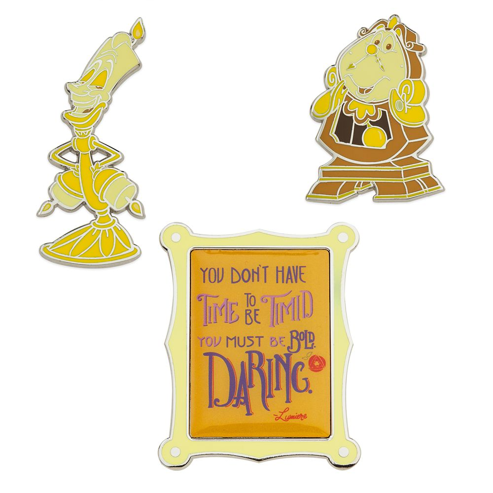 Disney Wisdom Pin Set  Beauty and the Beast  June  Limited Release