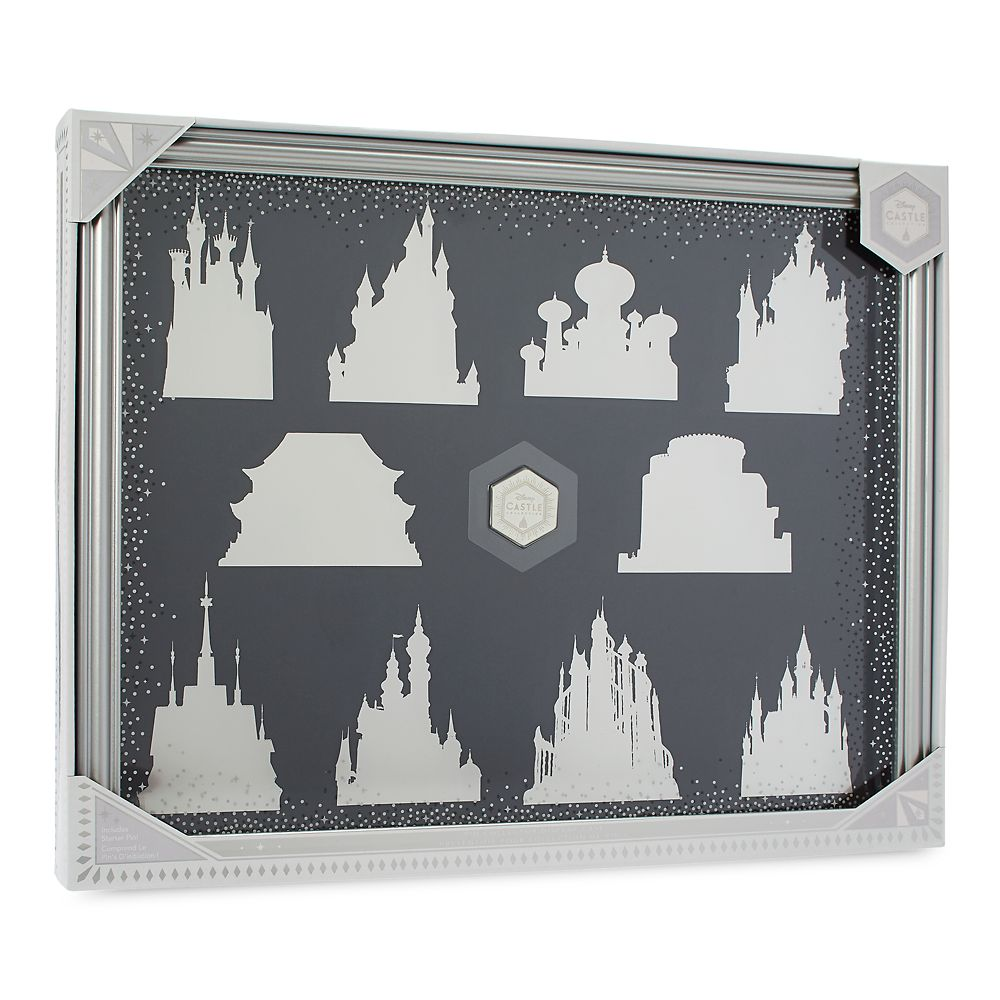 Disney Castle Collection Pin Collector Display Case