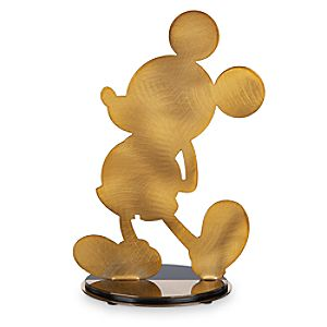 Mickey The True Original Silhouette Figure - Gold Collection - Limited Edition