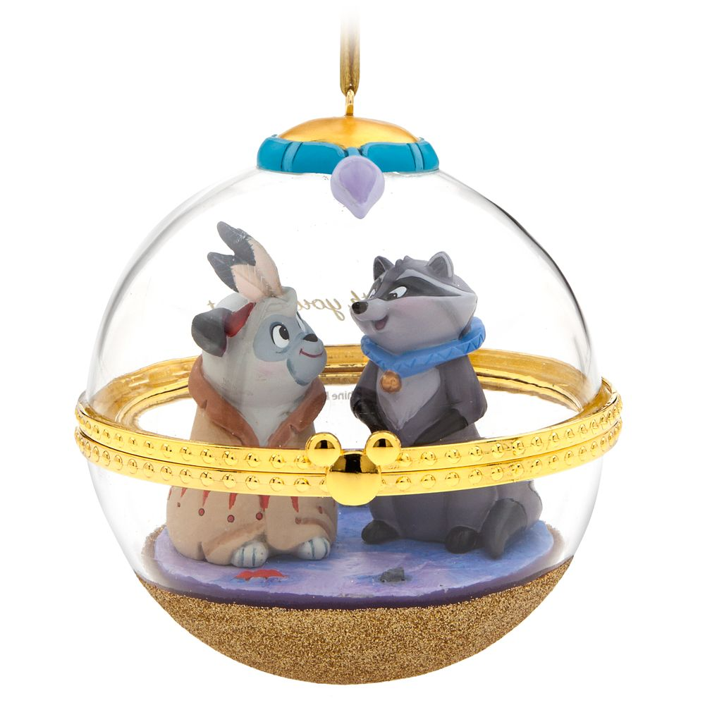 Meeko and Percy Disney Duos Sketchbook Ornament – Pocahontas – August – Limited Release