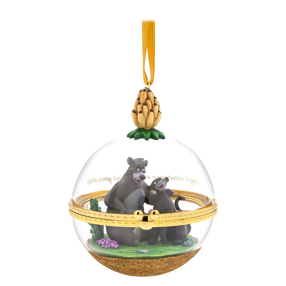 Baloo and Bagheera Disney Duos Sketchbook Ornament – The Jungle Book – September – Limited Release