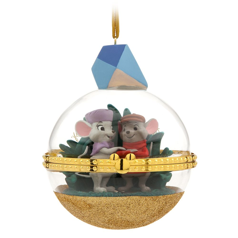 Bernard and Miss Bianca Disney Duos Sketchbook Ornament – The Rescuers – October – Limited Release
