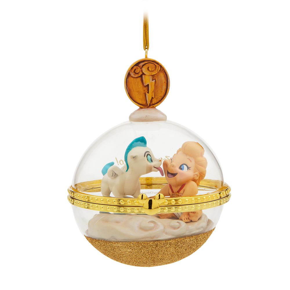 Baby Hercules and Baby Pegasus Disney Duos Sketchbook Ornament – November – Limited Release
