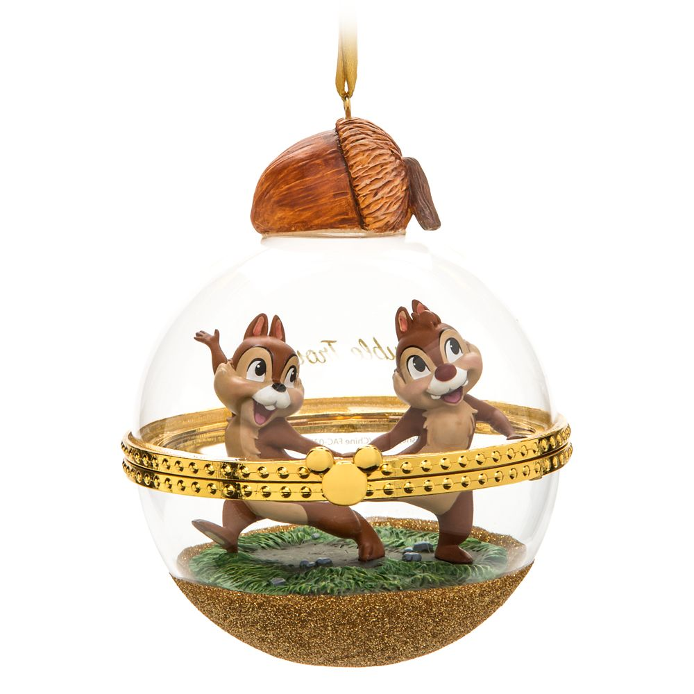 Chip 'n Dale Disney Duos Sketchbook Ornament – December – Limited Release