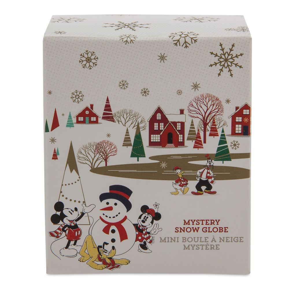 Mickey Mouse and Friends Mystery Mini Snowglobe – Holiday