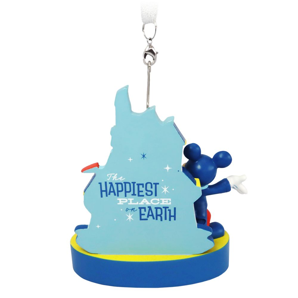 Mickey and Minnie Mouse Figural Ornament – Disneyland 65th Anniversary