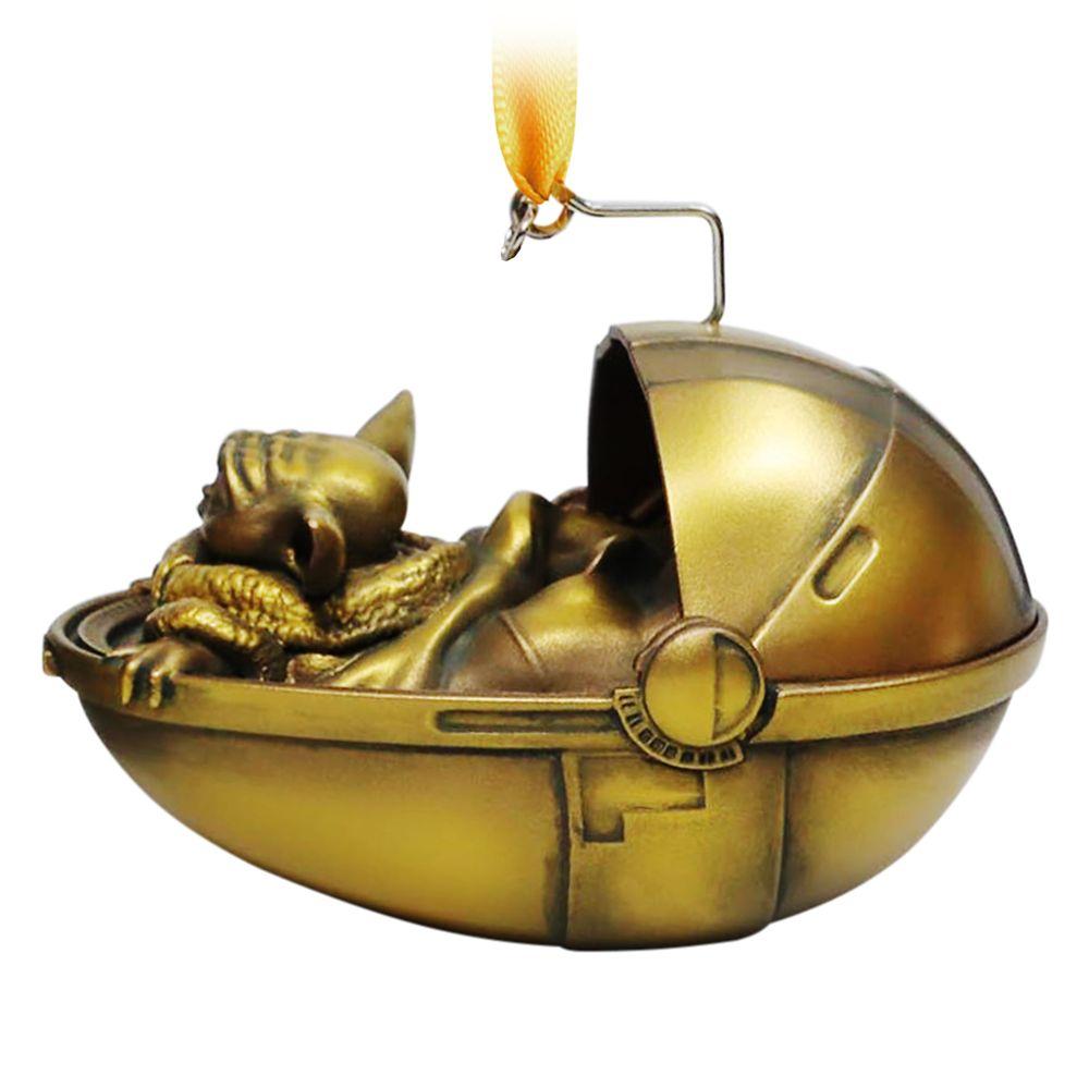 The Child Sketchbook Ornament – Star Wars: The Mandalorian – Bronze Variant