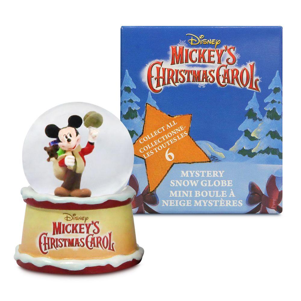 Mickey's Christmas Carol Mystery Snow Globe